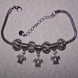 Pandora stijl armband, compleet, model T