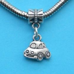 Auto bangle, Pandora stijl, Tibet zilver