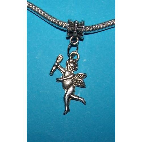Cupido bangle, Tibet zilver