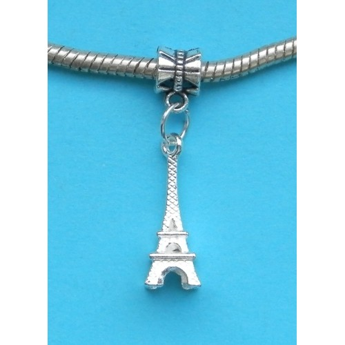 Eiffeltoren bangle, Pandora stijl, Tibet zilver, model B