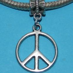 """""""Peace"""" bangle, Tibet zilver, Pandora stijl"""