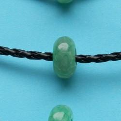 Groene Agaat bead, Pandora stijl