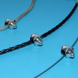 Varken spacer, Tibet zilver, Pandora stijl