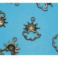 Bronskleurige bangles