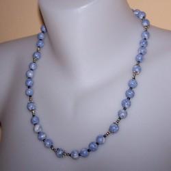 Blauw Howliet collier