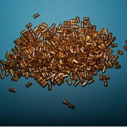 Goudkleurige buiskraal, 5x2,5mm