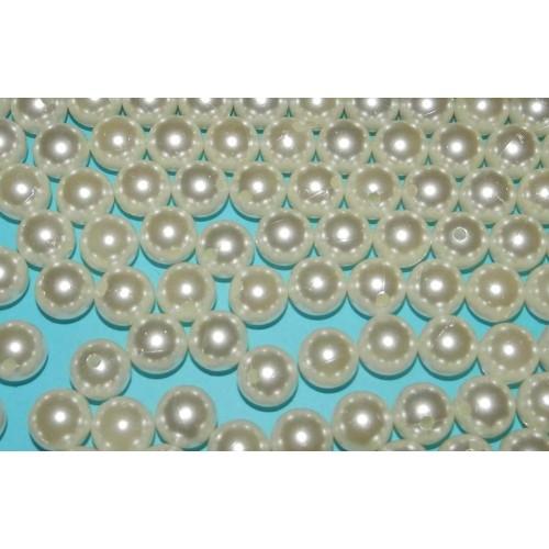 100 Kunststof kralen, 12mm