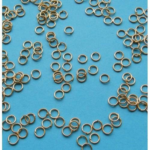 Ring, goud, 5mm