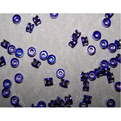 10 Aluminium spacers - paars