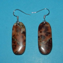 Chohua Jaspis oorbellen