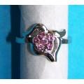 Zilveren ringen met kristal