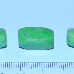 Smaragd kralen - set D - 13-17mm