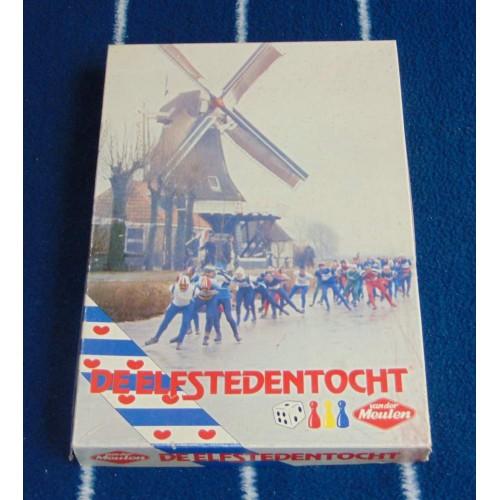 Elfstedentocht bordspel - Van der Meulen - 1985