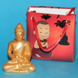 Boeddha beeldje in geschenkverpakking