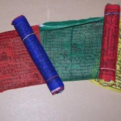 Gebedsvlaggen - 12,5x12,5cm - 10 stuks