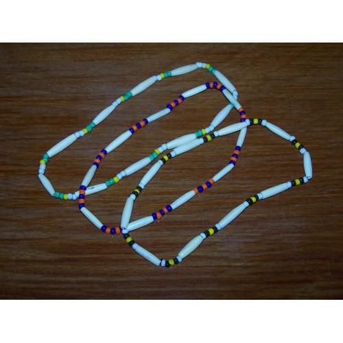 3 Indiaanse halskettingen - set 4