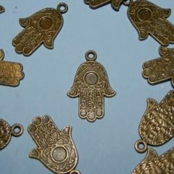 Hand van Fatima bangle, brons, model B