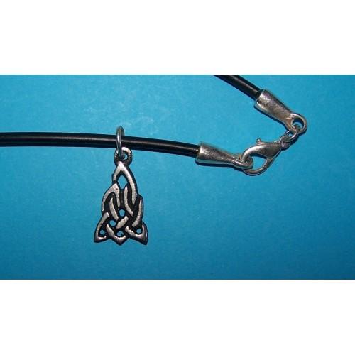 Celtic knot hanger, model 2, met veter