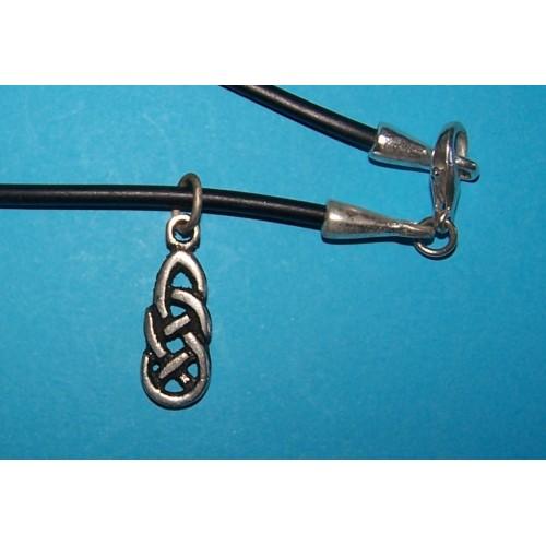 Celtic Knot hanger, model 3, met veter