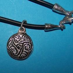 Celtic symbool hanger 2, met halskoord