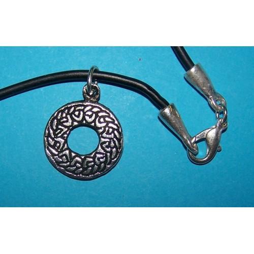 Celtic symbool hanger 3, met halskoord