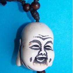 Boeddha halssieraad, been, model D