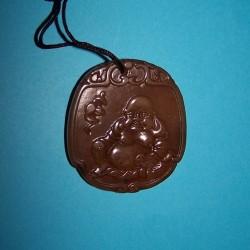 Boeddha halssieraad, bruin