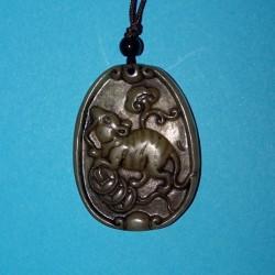 Rat hanger, Chinese astrologie, oude jade