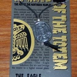 Eagle totem hanger