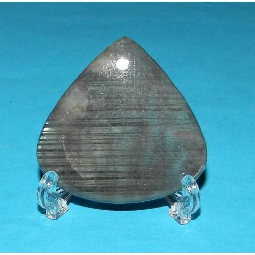 Mini standaard voor penning, steen, etc. - kunststof - 42mm